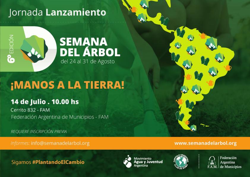Campaña Internacional Semana del Árbol – 6ta Edición