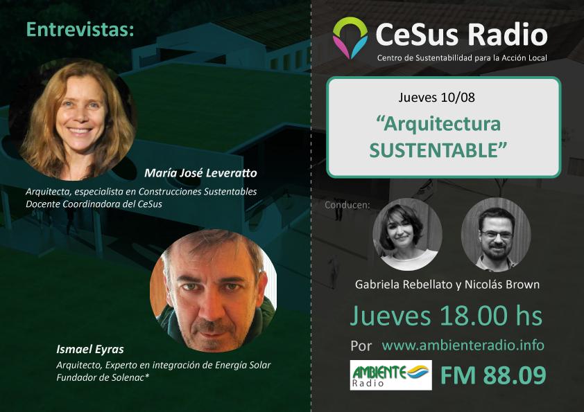 #CeSusRadio: ArquitecturaSustentable
