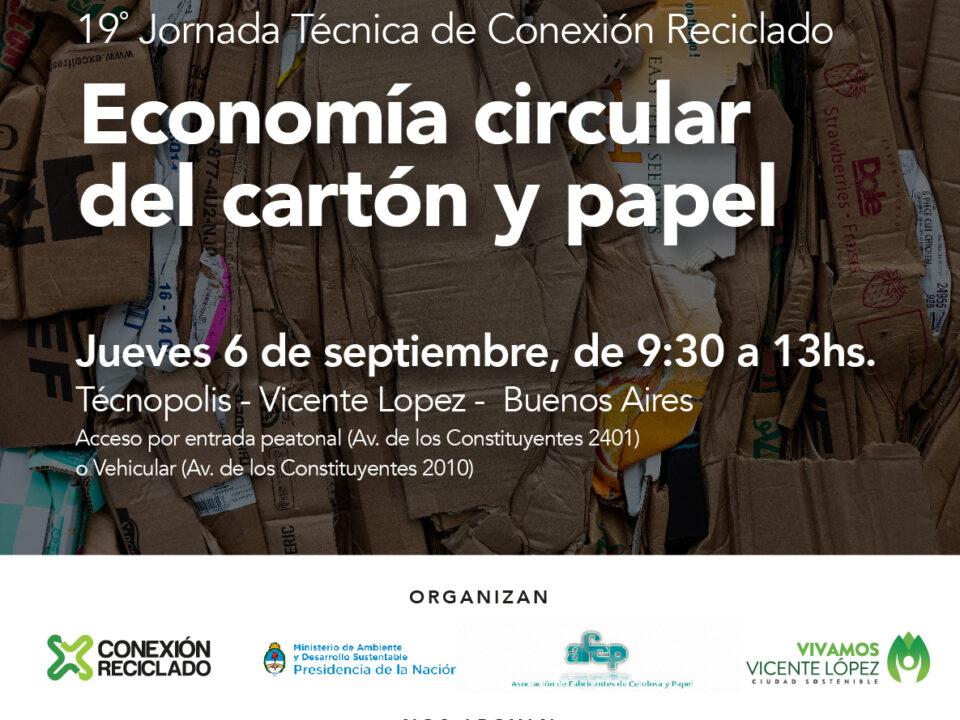 Conexión Reciclado – Jornada Papel y Cartón