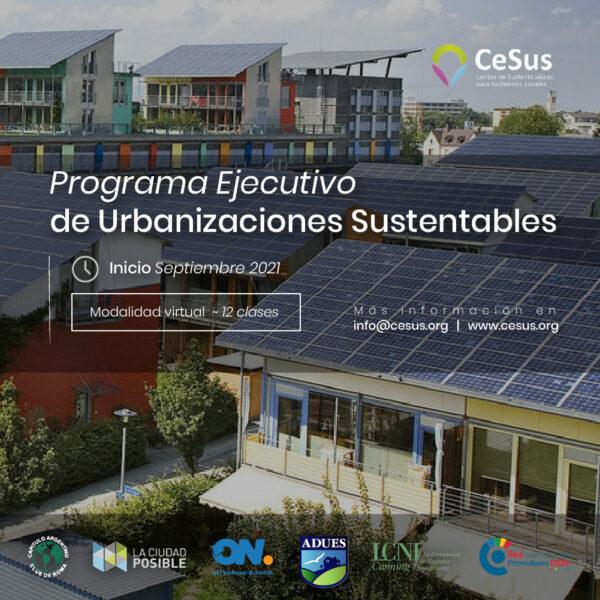 Urbanizaciones sustentables